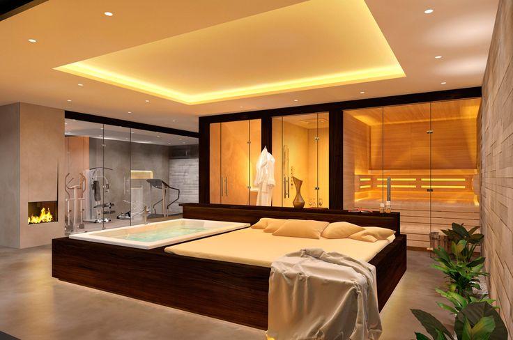 die besten 25 fitnessraum ideen auf pinterest keller fitnessraum fitnessstudio zu hause und. Black Bedroom Furniture Sets. Home Design Ideas