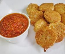 Recipe Walnut Battered Eggplant With Tomato Dipping Sauce | Thermomix #Gluten Free Recipe Competition