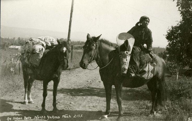 An Indian Belle, Yakima Washington