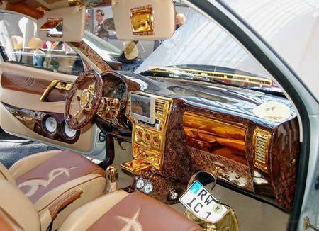 12 Craziest Pimped Car Interiors -