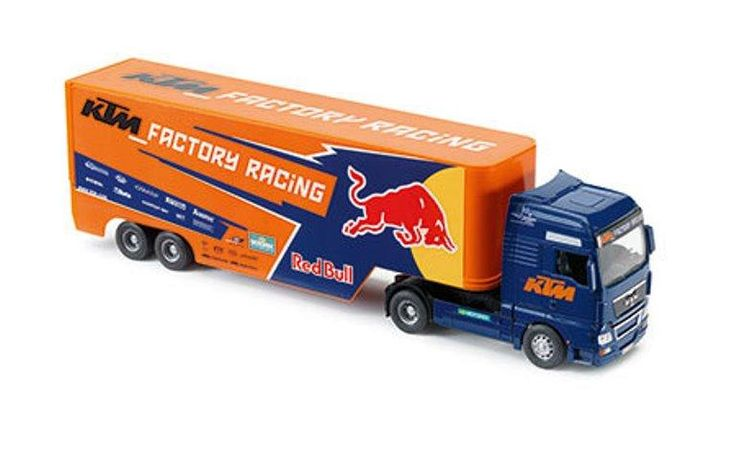 KTM Factory Racing Truck Model 1:32 Scale Logo Toy Truck