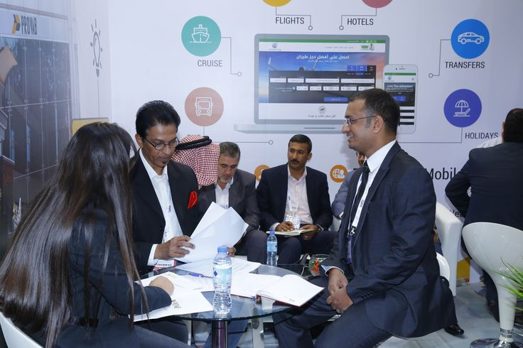 It was a pleasure meeting our clients and rospects at the Arabian Travel Market  ATM will help you network and develop relationships with international travel players. It will help you generate new leads, launch new products and increase your brand awareness. #Arabian #Travel #Market #2017 #Dubai #Provab #Technosoft