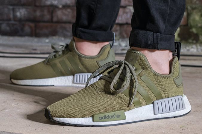 awesome Diese Olive Adidas NMD Sneakers wird ein Europa Unique