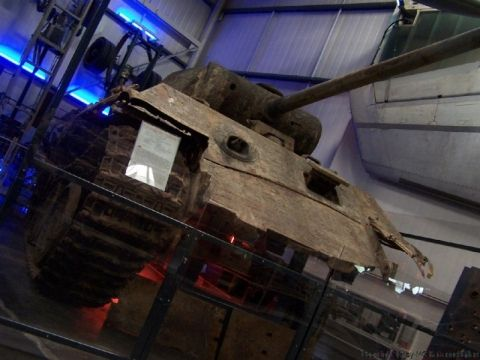 Wrecked German Panther tank found in Ukraine in 27 stunning images. Now is on display at the Technikmuseum Sinsheim