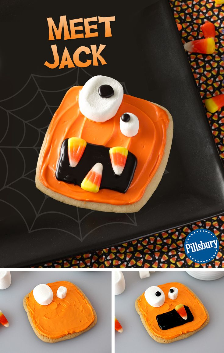 wacky monster cookies - Halloween Kid Foods To Make