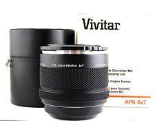vivitar teleconverter 2x for pentax 67
