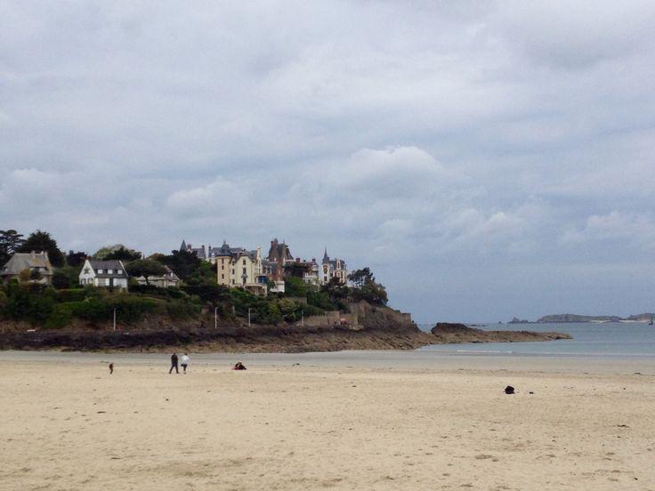 Spiaggia di Dinard, Bretagna Francia
