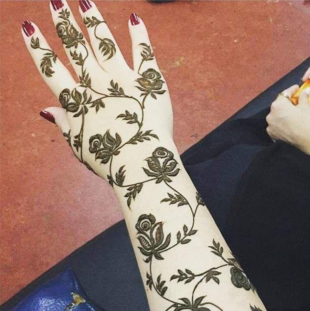 Rose Henna Tattoo Designs On Wrist: 40 Best Rose Mehndi Designs Images On Pinterest