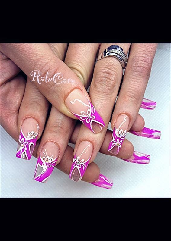 Nails unghie Belle effetto vetro ❤️