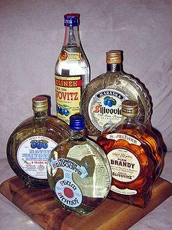 Silvovitz - Serbian Plum Brandy.
