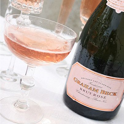 Anyone for a glass of Graham Beck Brut Rosé?