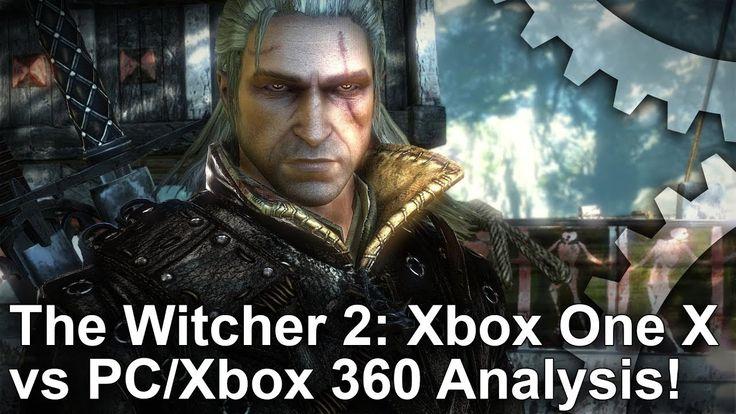 [4K] The Witcher 2: Xbox One X Enhanced vs PC vs Xbox 360 Comparison!