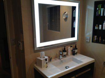 LED Mirror 700 x 700 Fair Lodge