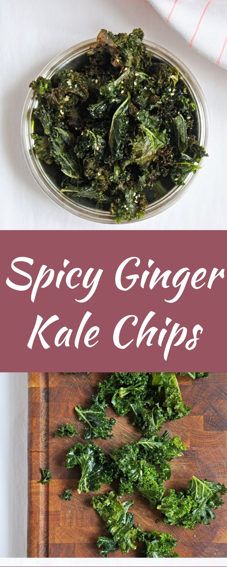 pepper parmesan kale chips spicy chips roasted adventure kale kale ...