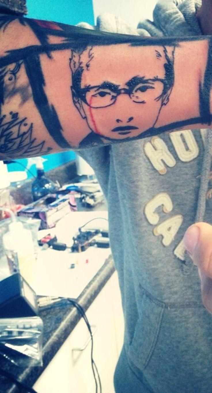 22++ Awesome Chester bennington tattoo hand ideas