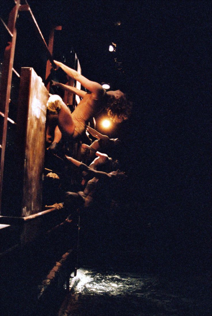 RISE. The Wall of Milk and Honey Dancers: Alana Sargent, Brian Grannan, Natalie Hona, Anne Brashier