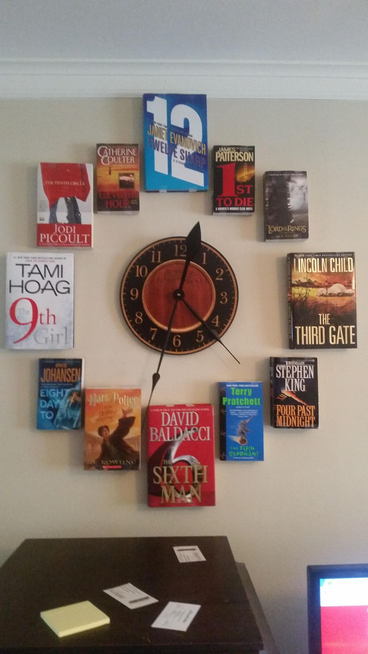 Book O'Clock, I was told you guys might be interested. - Album on Imgur