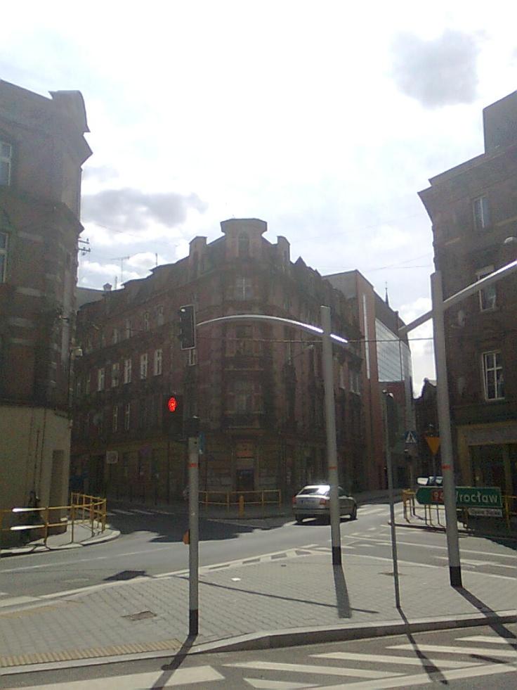 Bytom center, looks a bit like a Wall Street in NY :)