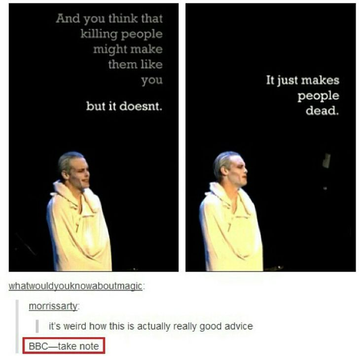 Not directly related to Doctor Who or Sherlock but here's good advice from Starkid. BBC, TAKE NOTE