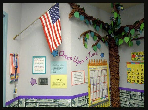 Fairy tale themed classroom