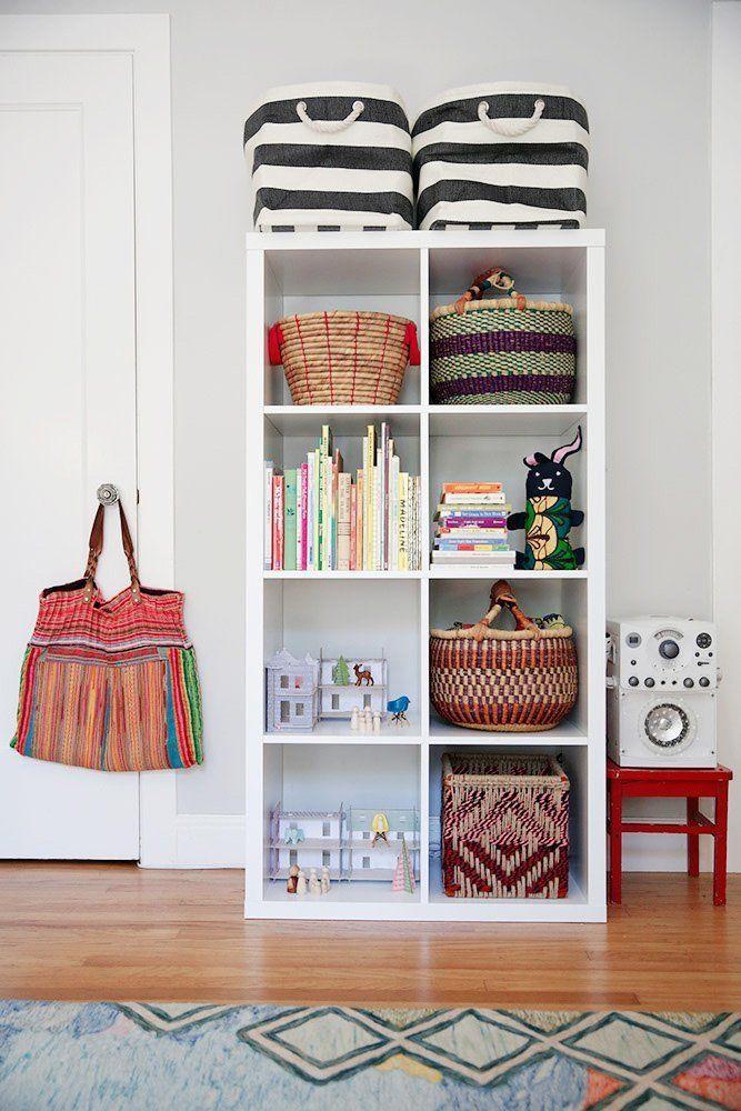Genius Idea Ikea Expedit Shelves With Baskets For Storage: Best 25+ Ikea Kallax Nursery Ideas On Pinterest