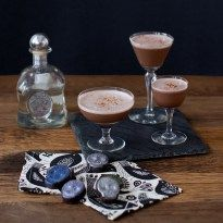 Dia de los Muertos with Chocolate Tequila Cocktail