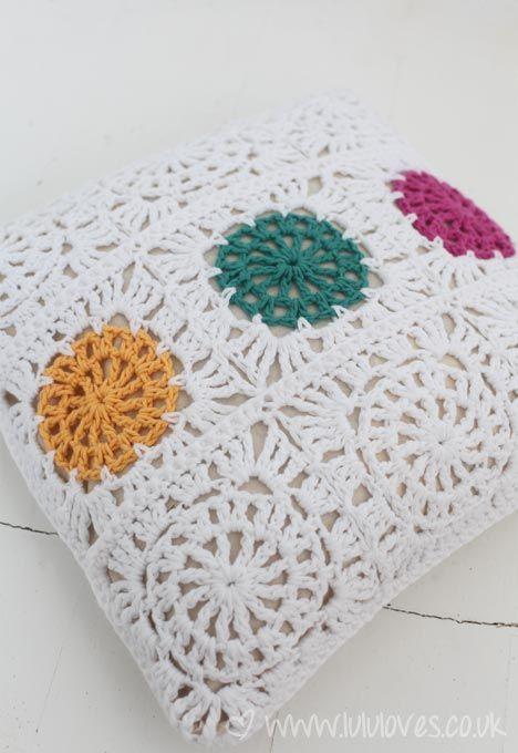 Crochet Cushion - Lululoves