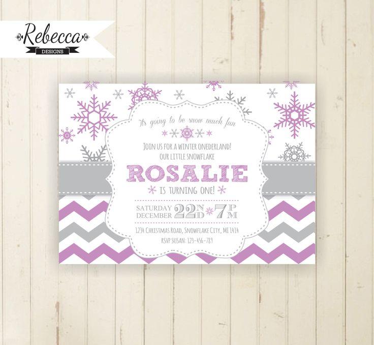 Best 25+ Snowflake invitations ideas on Pinterest | Winter wedding ...