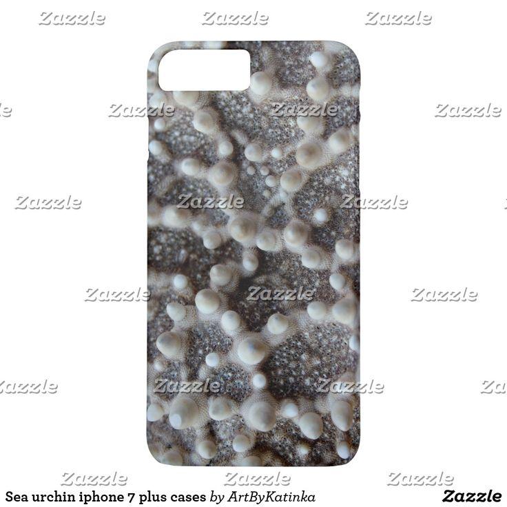 Sea urchin iphone 7 plus cases