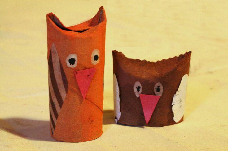 ptáčci z ruliček
