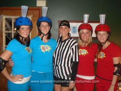 Coolest Homemade Double Dare Group Costume Ness Pinterest Costumes And