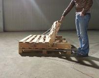 Pallet Furniture Study - 1 : The Industrial Futon
