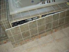 71 best home hall bath tub images on pinterest bathroom for Bathroom access panel ideas