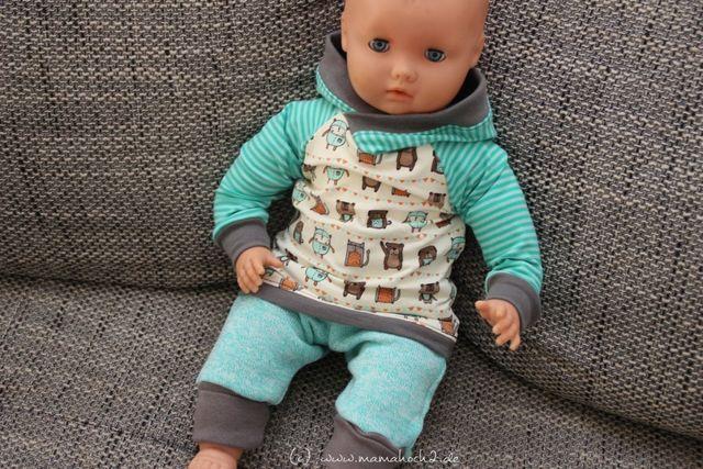 Puppensachen nähen – Schnittmuster verkleinern | Mamahoch2 | Mamahoch2 | Bloglovin'