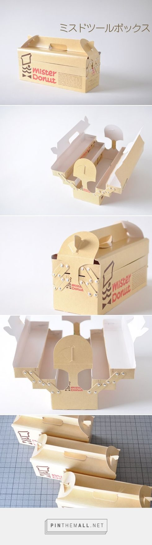 Mister Donut. Looking for packaging ideas for your business or start-up? We're here to help! Visit us at PrimeLinePkg.com for custom bags, boxes, and accessories for your shop!