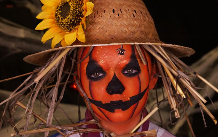La citrouille d'Halloween #maquillagecitrouille #pumpkinmakeup