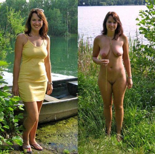 sklavenzentrale nackt und bekleidet