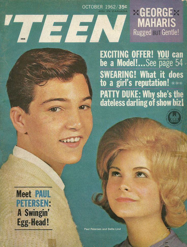 Teenage Magazine Names: 1000+ Images About 'Teen Magazine Covers 1950's-1960's On