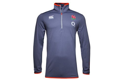 England 2016/17 First Layer 1/4 Zip Rugby Training Top