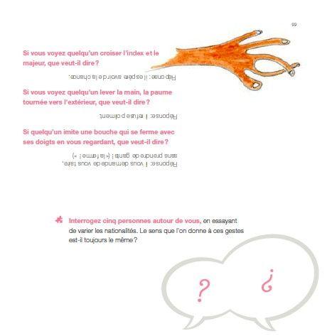 """Croiser les doigts Extrait du livre """"Parlez-vous interculturel"""" (Institut Frnaçais d'Espagne - http://cours.ifmadrid.com/prof)"""