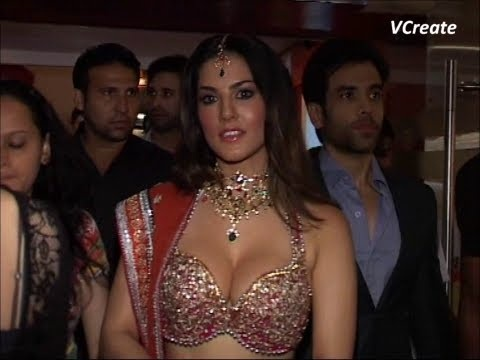 sunny leone spotted at PVR cinema for shootout at wadala promotions.