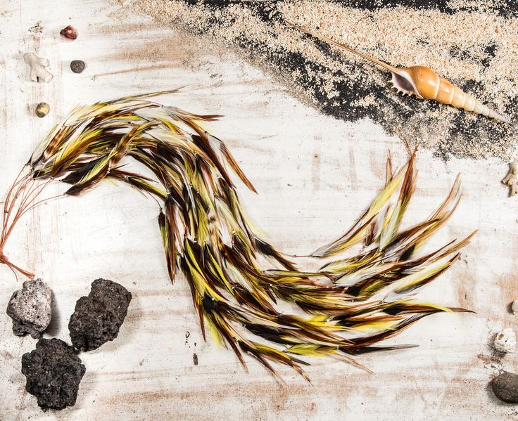 Yellow Gypsy Feather Hair Extension – Plume Angel