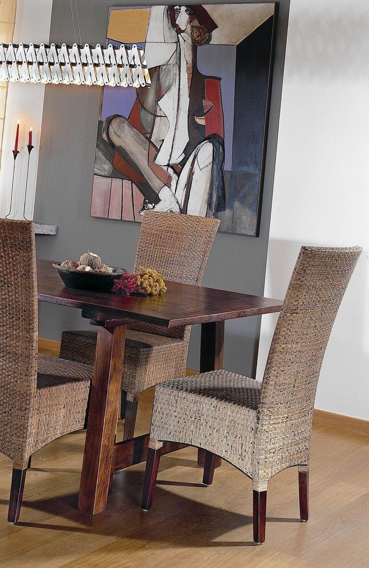 Krásná designová židle LASIO coklat nízké opěradlo materiál : ratanová kůra coklat. Rozměry: 56 x 46 x 95 cm