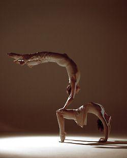 Partner yoga~truly amazing
