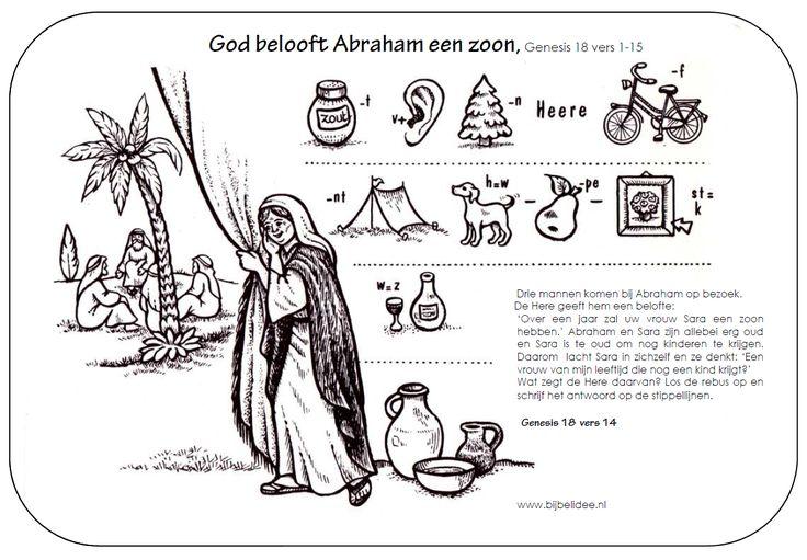 God belooft Abraham een zoon zou voor de here iets te wonderlijk zijn
