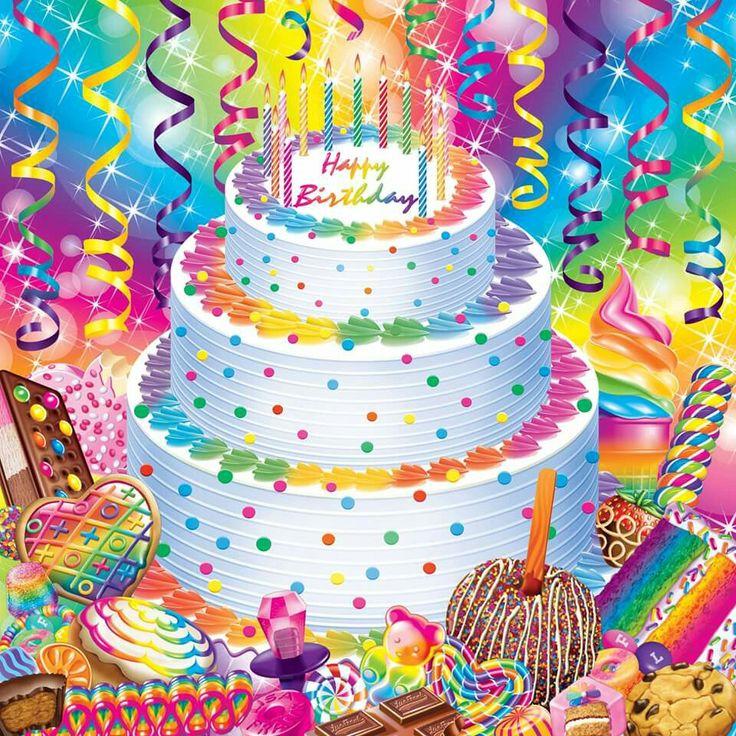 Lisa Frank Cake Ideas