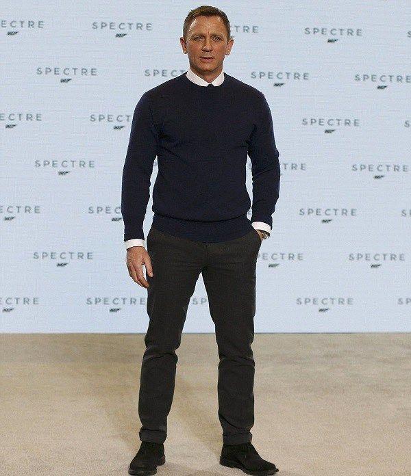 Daniel Craig Height, Weight, Biceps Size