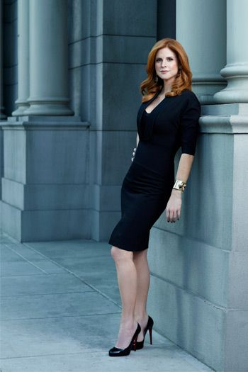 WORK WEAR DIARIES: THE WOMEN OF SUITS : Donna :) #suits