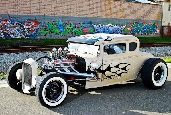 Hot Rod, old school
