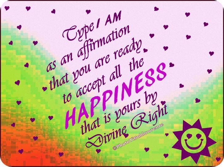 • Positive Spiritual Affirmation •